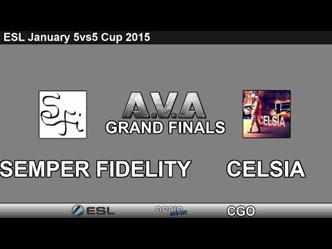 CGO AVA - Semper Fidelity vs Celsia - Grand Finals - ESL January Cup 2015