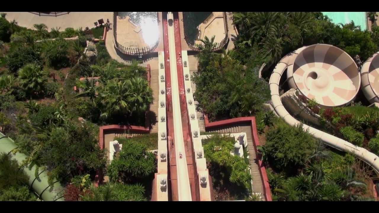 Costa Adeje Siam Park Helidreams 1 min - YouTube