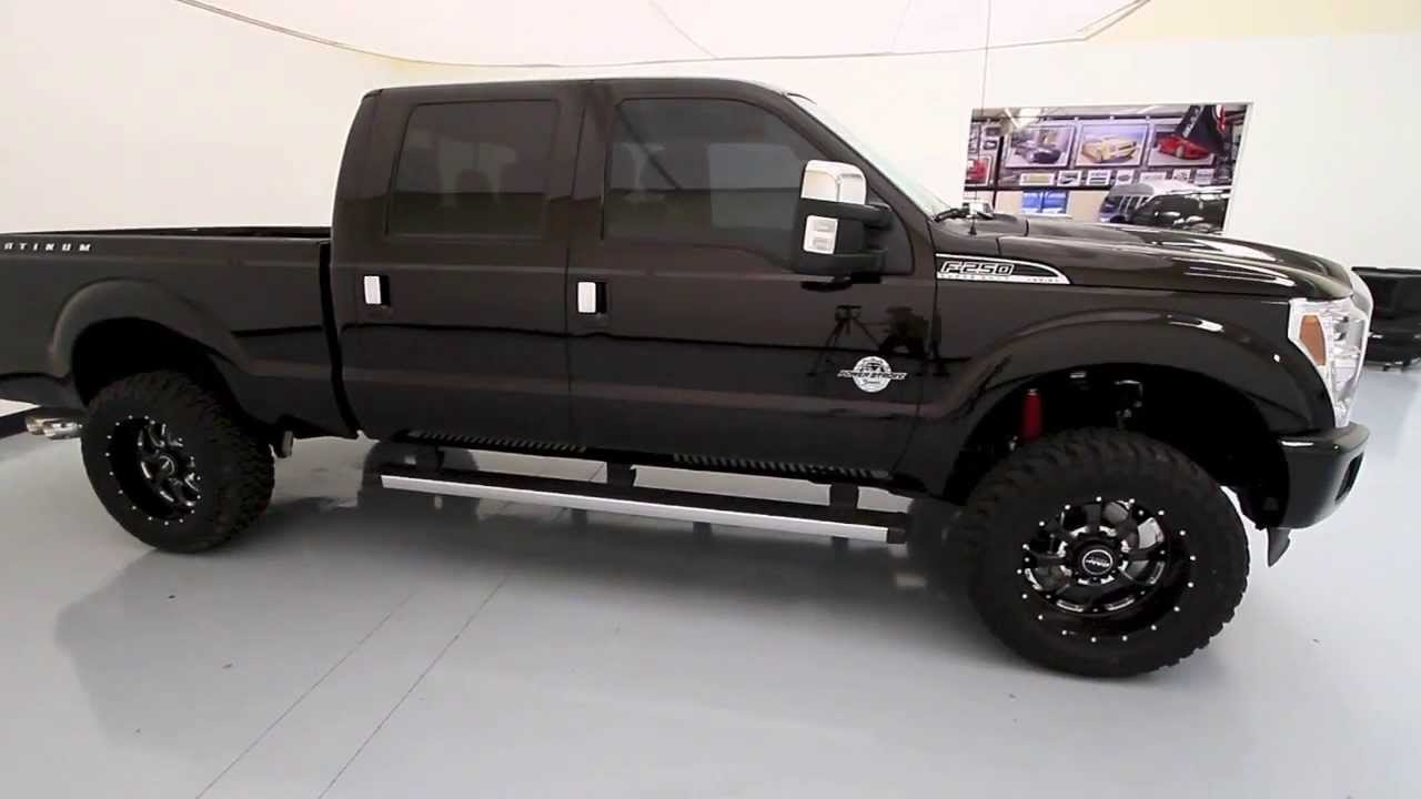 2013 Ford Super Duty F 250 Platinum With Custom Lift