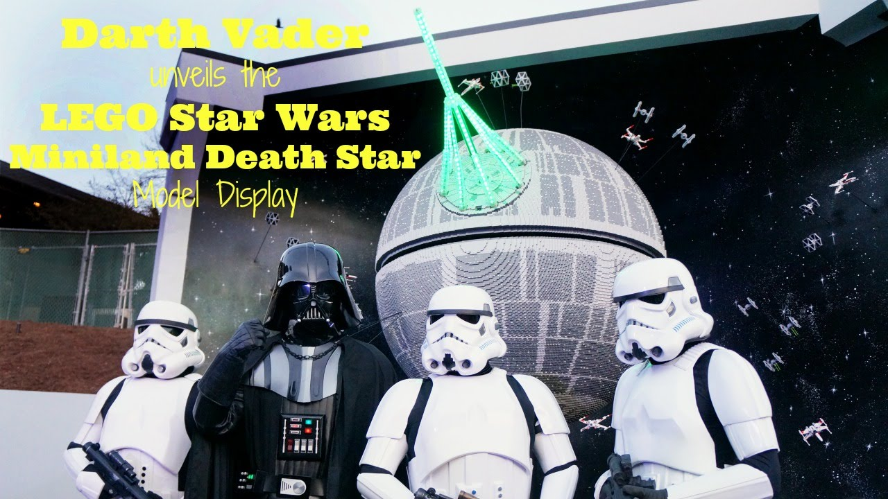 Lego Star Wars Miniland Death Star Model Display Unveiling