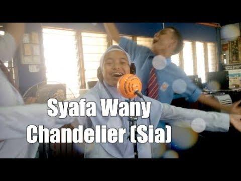 Syafa Wany - Chandelier (Cover Sia) - YouTube