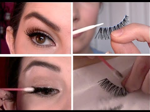 d8c55224341 False Eyelashes 101: Select, Apply, Remove, Clean - YouTube