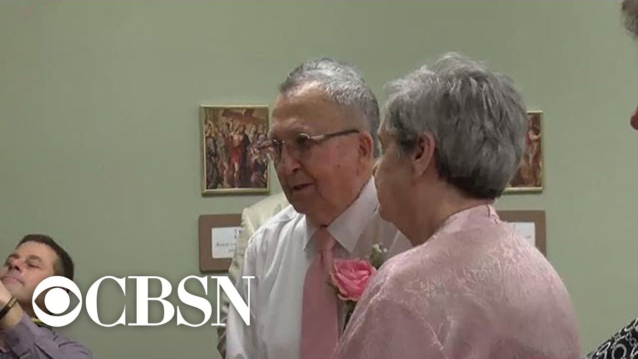 Widowed man and woman find love at senior living facility