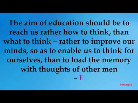 QUOTES ON EDUCATION BY GREAT THINKERS