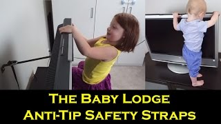 Anti-Tip TV & Furniture Anchor Straps Review | The Baby Lodge