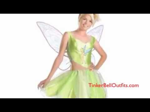 2010 adult tinkerbell outfits costumes