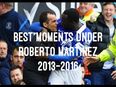 Best Moments Under Roberto Martinez 2013-2016