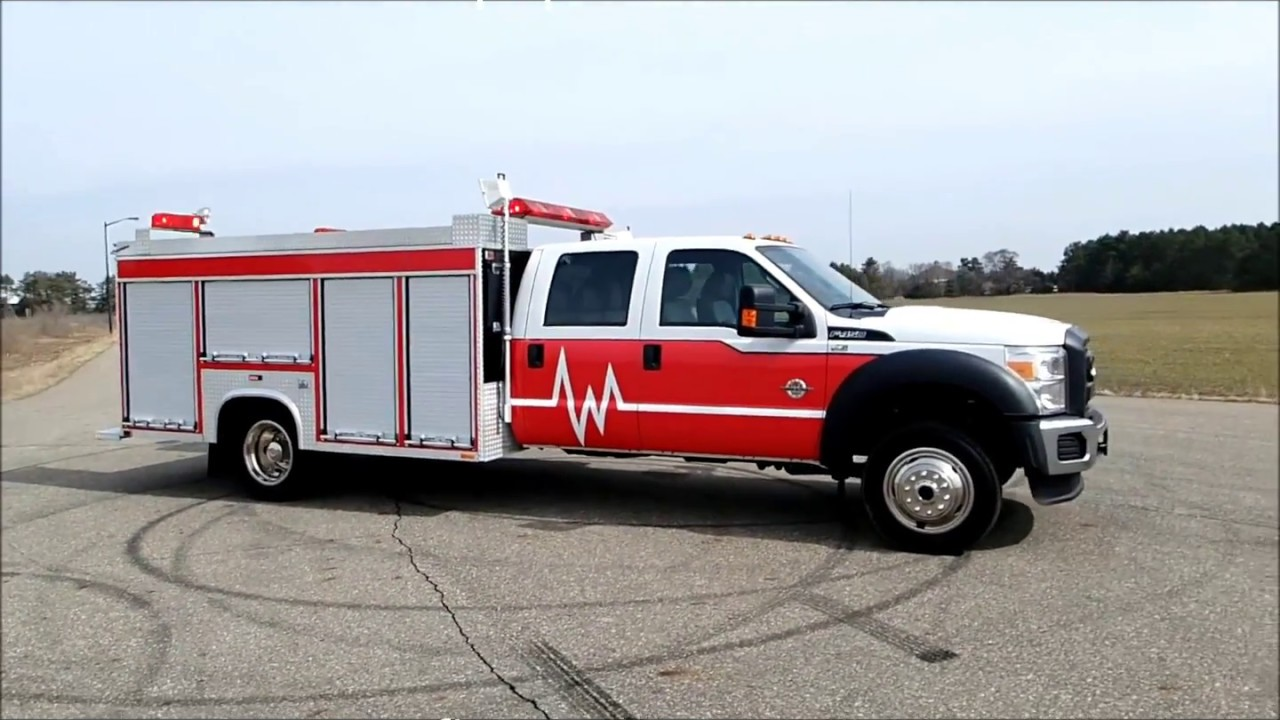 F550 For Sale >> Ford F-450 Super Duty Fire Rescue Truck For Sale by CarCo Fire Equipment - YouTube