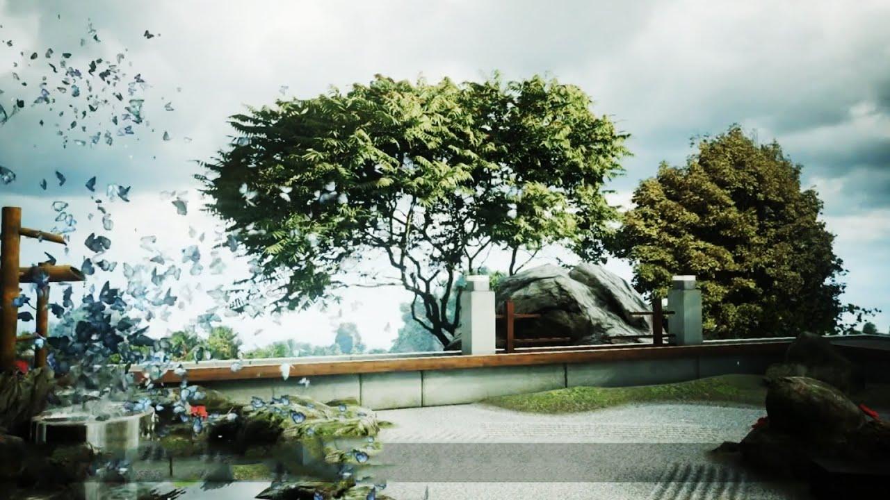 Unreal Engine 4   Zen Garden   Tech Demo   MRGV   YouTube