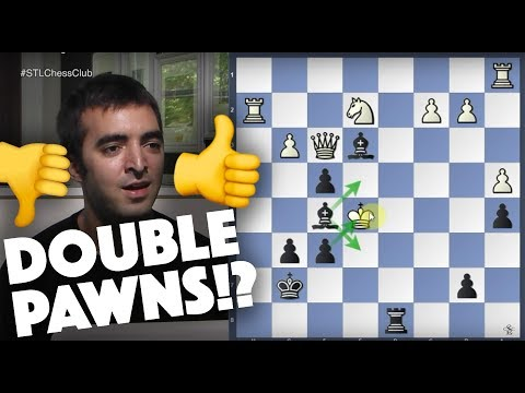 The Advantages of Doubled Pawns | Secret Life of Pawns - IM Eric Rosen