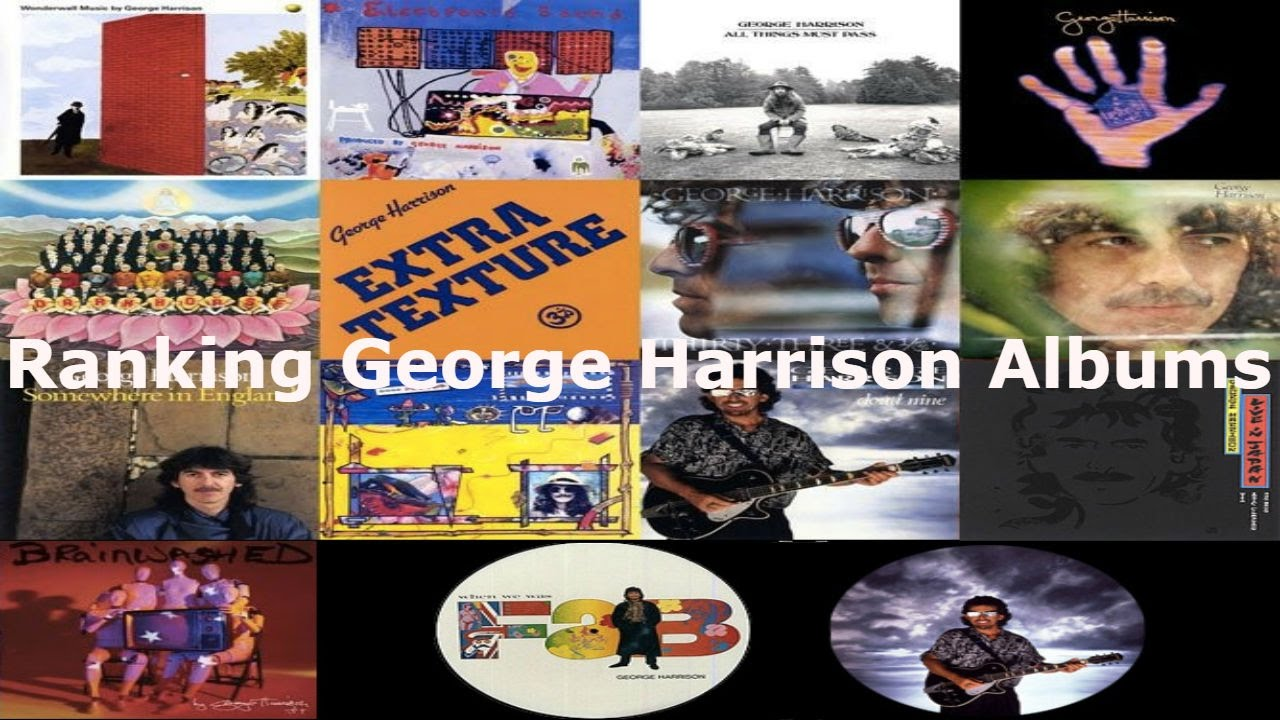 Ranking George Harrison Albums