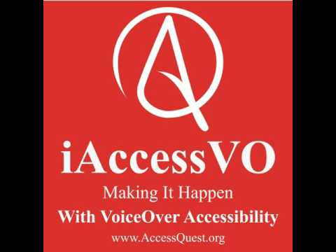 "Apple features iAccessVO producer Patrick Lafayette, in ""Like A Volcano"", a Global Accessibility..."