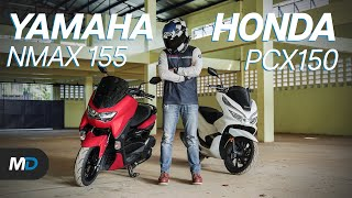 Honda PCX 150 vs Yamaha NMAX 155 - Beyond the Ride