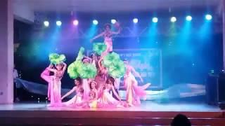 Vũ Khúc Hồng Liên | Tiết mục múa sen chung kết văn nghệ