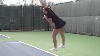 Tennis Highlights vs. URI - Senior Day (04/20/18)