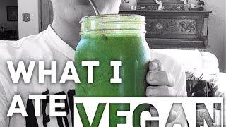What I Ate Today Vegan || Calories + Ratios
