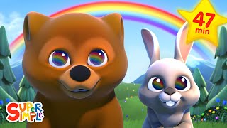 The Rainbow Song | + More Kids Songs | Super Simple Songs