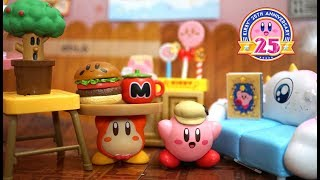 kirby miniature toy! 「Kirby's cafe time」星のカービィのリーメント「プププなカフェタイム」