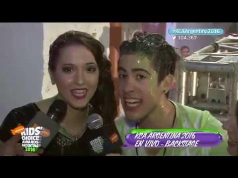 Backstage #2 | Kids Choice Awards Argentina 2016 | Detrás del escenario