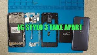 LG Stylo 3 Plus  - How To Take Apart - Screen Repair - LCD