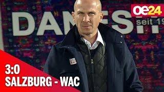 Salzburg gewann Liga-Schlager beim WAC dank Haaland 3:0