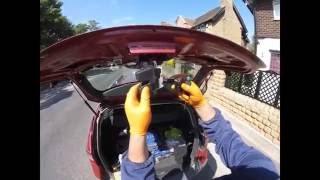 Как отремонтировать кнопку багажника RENAULT