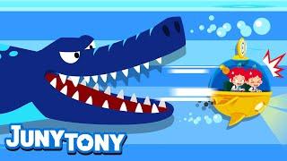 Dinosaur Adventure | Adventure Songs for Kids | Preschool Songs | JunyTony