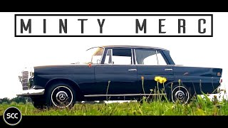 MINT AND FULLY ORIGINAL MERCEDES-BENZ W110 190C Heckflosse 1965 | SCC TV