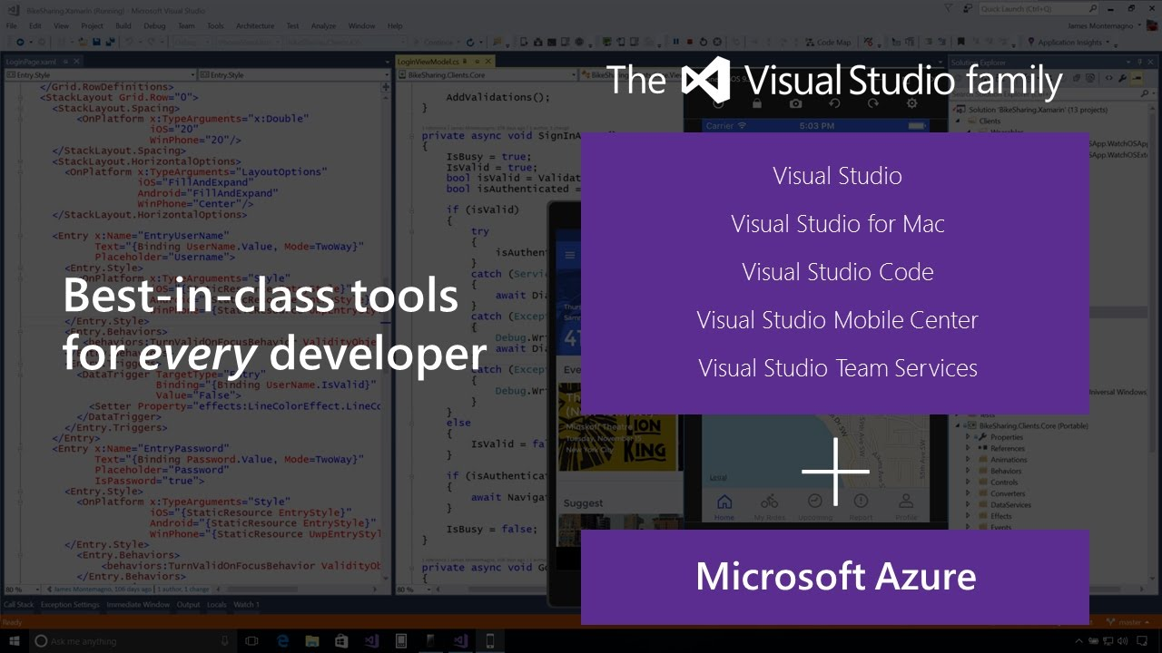 Introduction to Xamarin for Visual Studio 2017