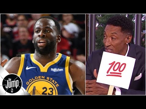 Scottie Pippen impressed by how much Draymond Green has changed in 2019 NBA playoffs  The Jump