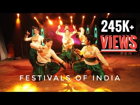 Festivals of India | Dance performance | KPC Fest Plexus 2017|