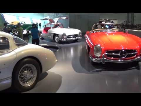 Mercedes-Benz Museum – Stuttgart – Germany: Worldwide a unique spot of automobile history