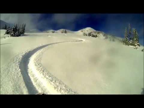 snowmobiling Torpy B.C Raw footage