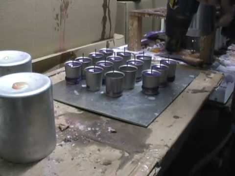 How to Make a Votive Candle by Hand