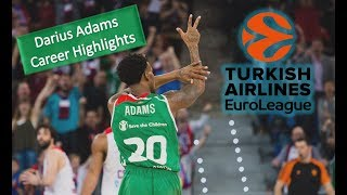 Darius Adams ● Career Best Plays & Highlights ● Euroleague Comeback