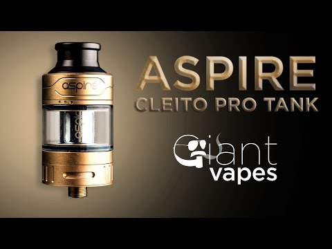 Aspire Cleito Pro Tank: A Giant Vapes How-To