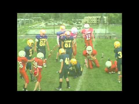 Glenwood Springs Middle School 8th Grade Football Highlights