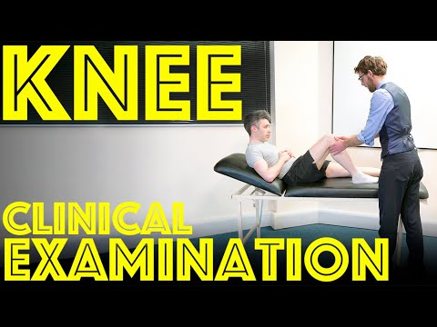 Knee Examination -  How to perform a KNEE EXAM for Orthopaedic Clinical Skills OSCE - Dr James Gill