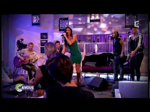 Nicole Scherzinger - Don't hold your breath live @ C à Vous - 01.06.11