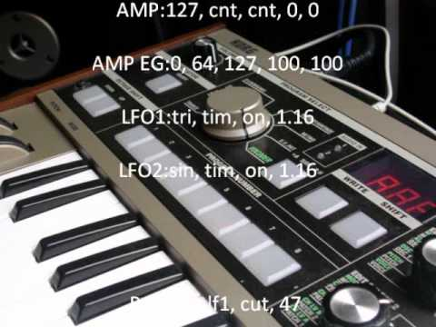 Make your microkorg sound like a juno-60