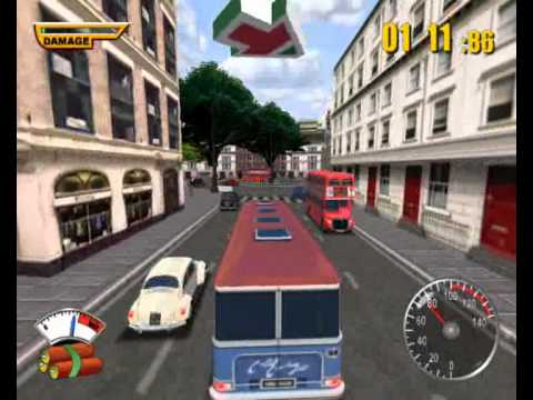 The Italian Job PC Mission 8 - Big William