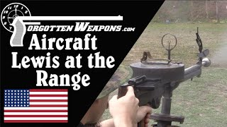 Savage M1918 Aircraft Lewis at the Range (With Rare Tripod Mount!)
