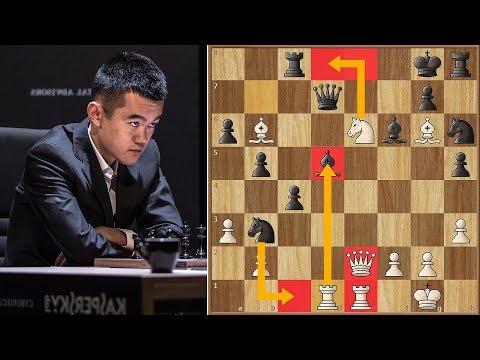 The Curse of Giri  | Ding Liren vs Grischuk | Candidates Tournament 2018.