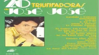 El triste Jose jose TONO MEDIO Karaoke