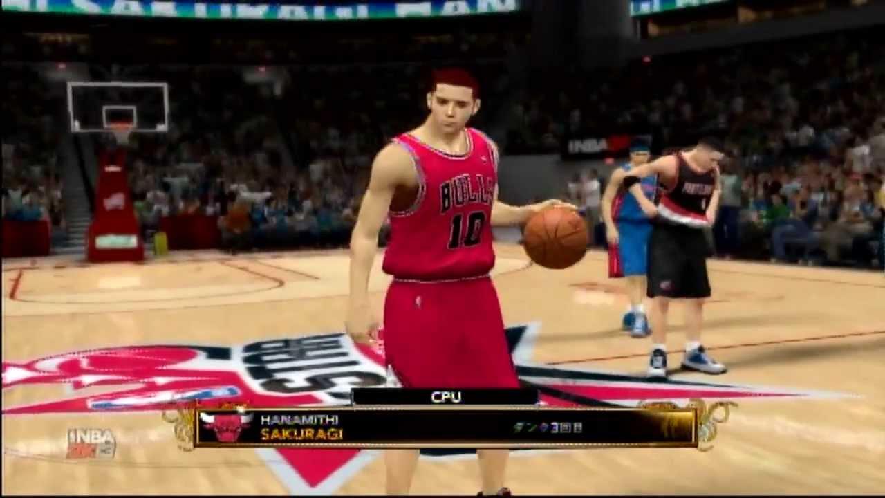 NBA2K13 オールスタースラムダンクコンテスト スラムダンク ...