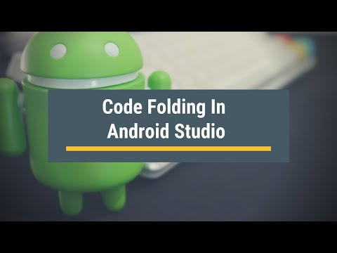 Code Folding in Android Studio