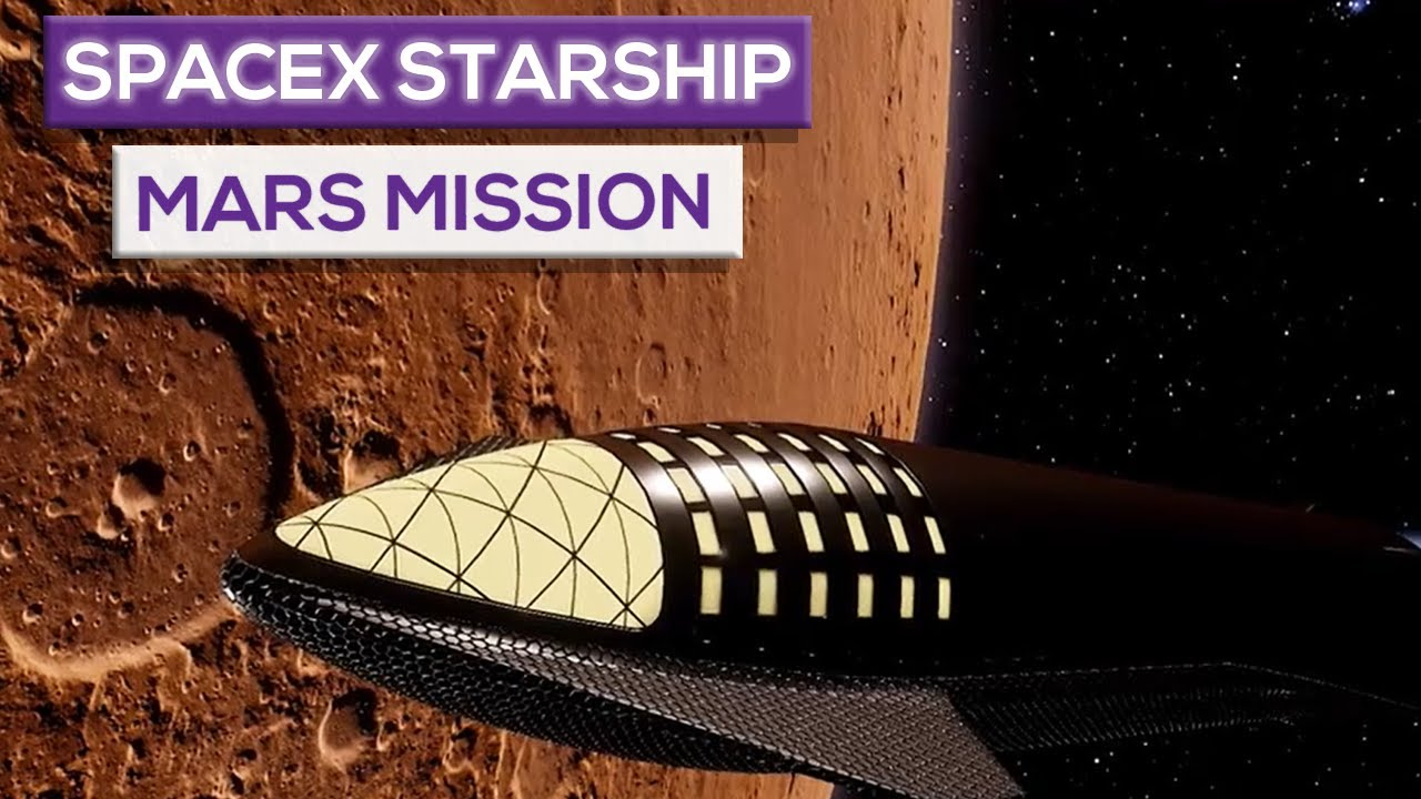 SpaceX Starship Mars Mission