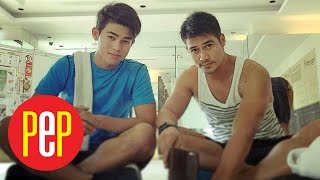 Iñigo Pascual wants kissing video with dad Piolo to inspire young people