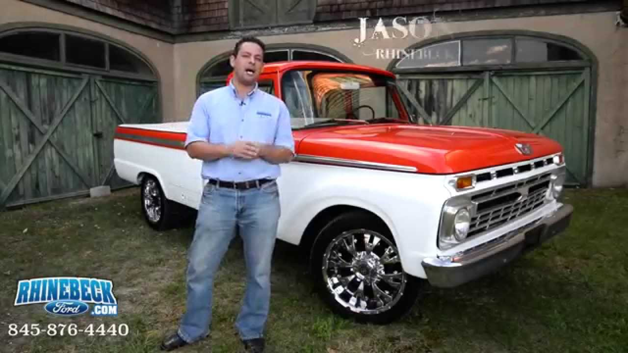 2014 F250 For Sale >> 1966 Ford F-250 Custom Cab - YouTube