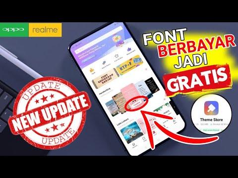Font Berbayar Jadi Gratis Oppo Pakai Cara Ini Boss Que Theme Store Oppo Realme Work Youtube